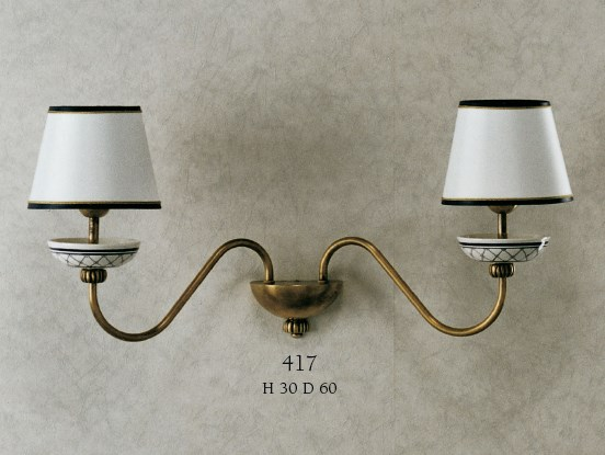 417 Wall Lamps Rustic