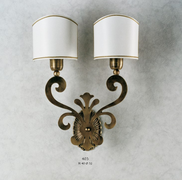 403 Wall Lamps Rustic