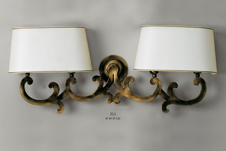311 Wall Lamps Rustic