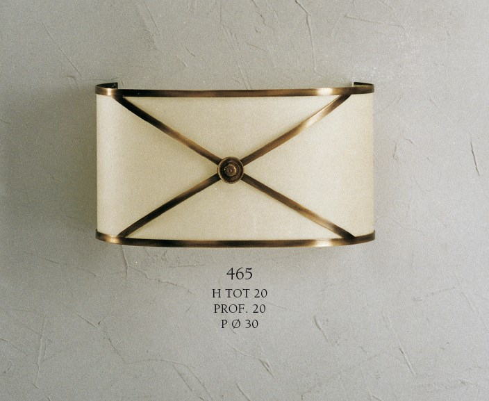 465 Wall Lamps Rustic