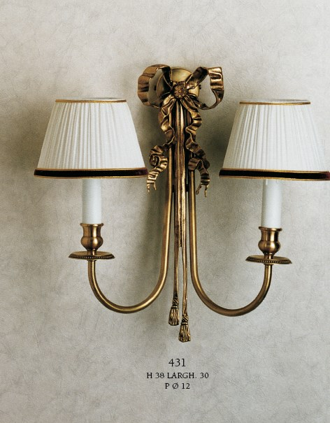 431 Wall Lamps Rustic