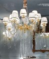 1744/CH16 ORO 24K Chandeliers Classic