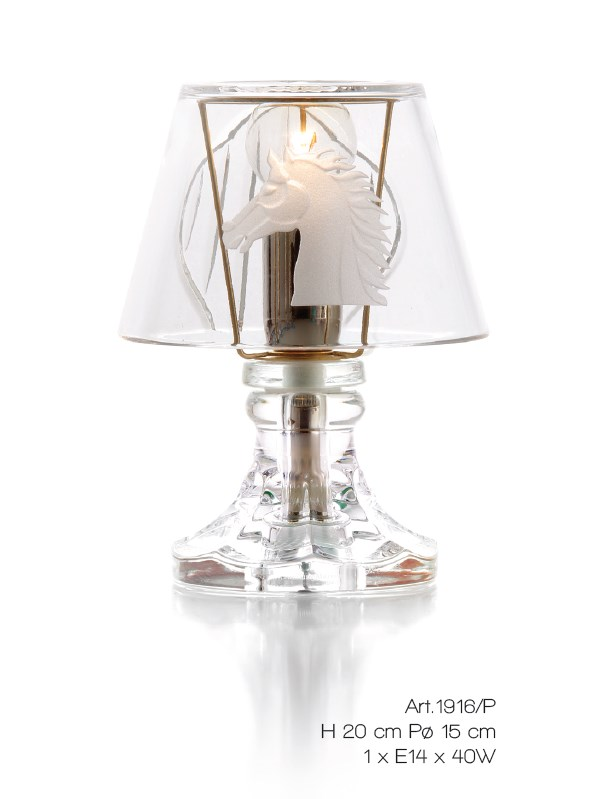 1916/P/KRTR Table Lamps Contemporary