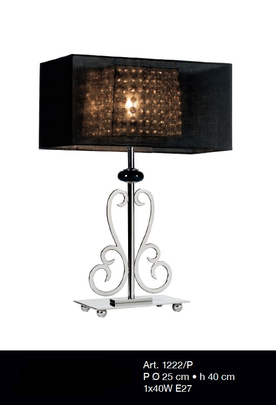 1222/P - Prompt delivery Table Lamps Contemporary