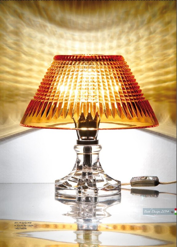1913/G/KRAM Table Lamps Contemporary