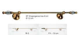 ST18 Curtain Rods Classic