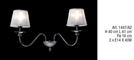 1447/A2 Wall Lamps Contemporary