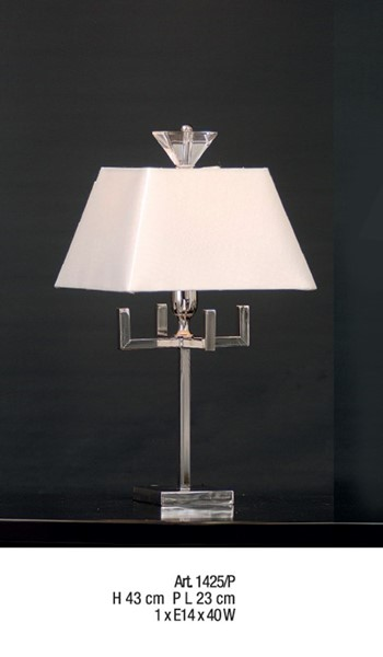 1425/P Table Lamps Contemporary
