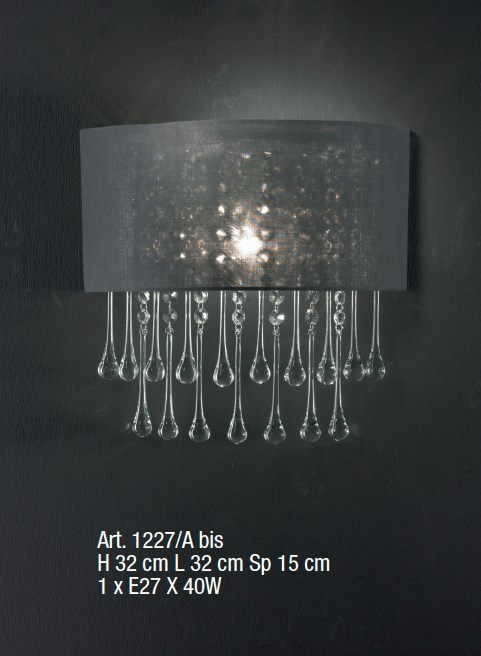 1227/A BIS Wall Lamps Contemporary