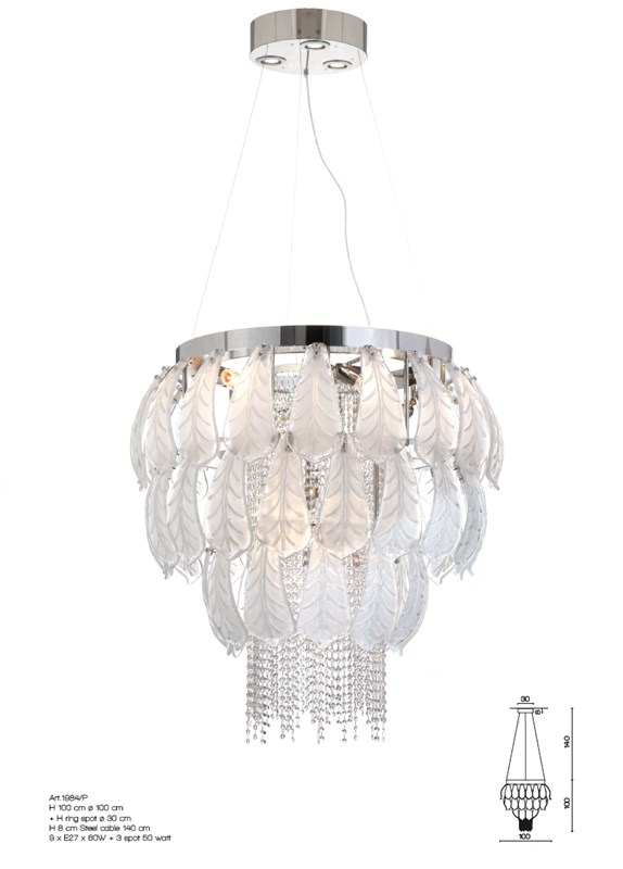 1984/P Chandeliers Contemporary