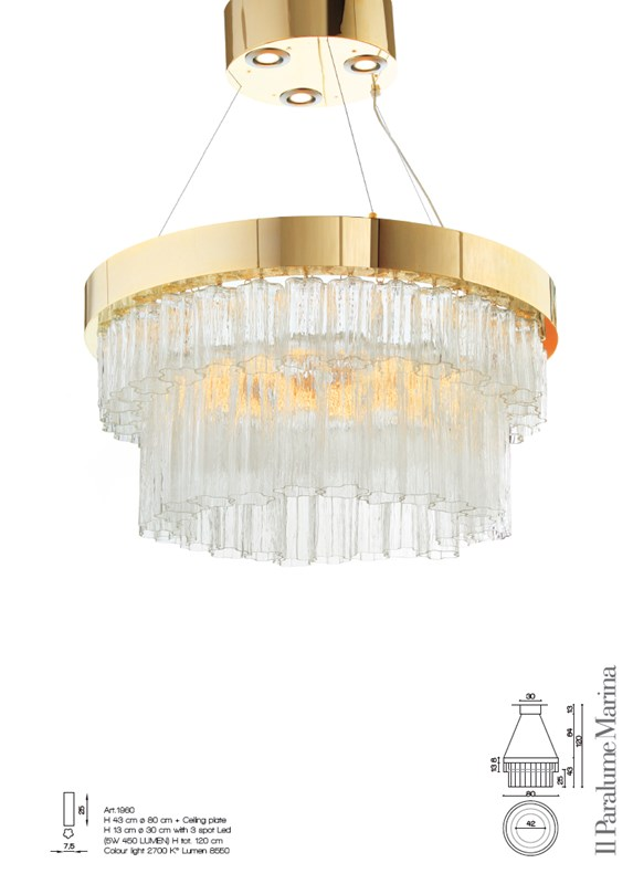 1960 Chandeliers Contemporary
