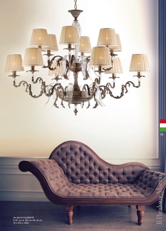1941/CH12/BR/TR Chandeliers Classic