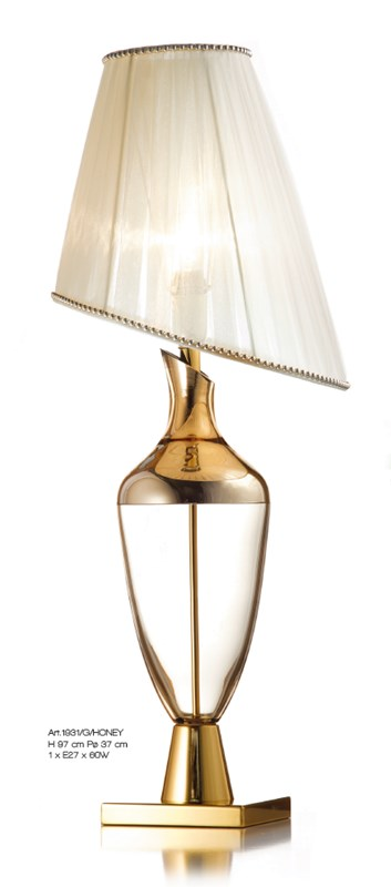 1931/G/HONEY Table Lamps Classic