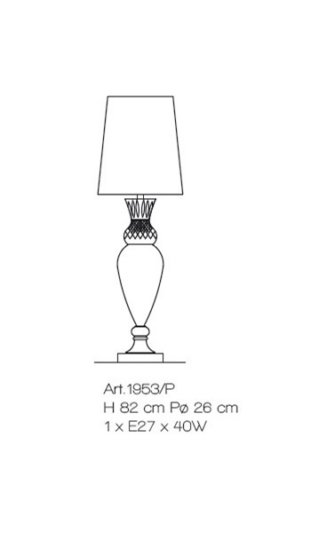 1953/P Table Lamps Classic