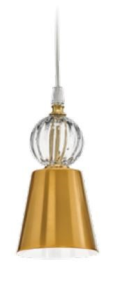 M106/GLOSSYGOLD-BI Chandeliers Contemporary