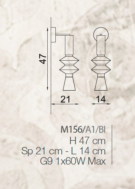 M156/A1 Wall Lamps Contemporary