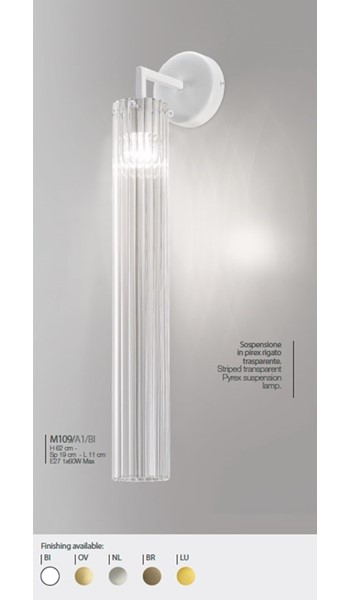 M109/A1/BI Wall Lamps Contemporary