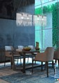 M139/BR Chandeliers Contemporary