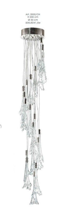 2002/CH Chandeliers Contemporary