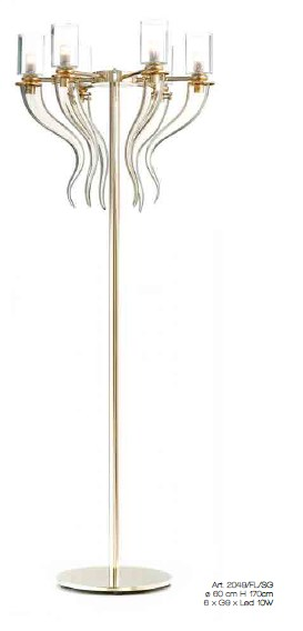 2049/FL/SG - Prompt delivery Floor Lamps Contemporary