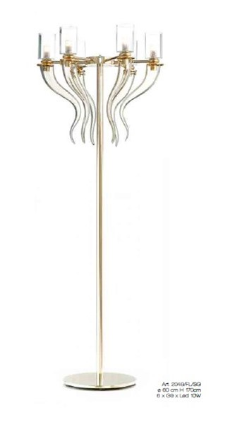 2049/FL/SG Floor Lamps Contemporary