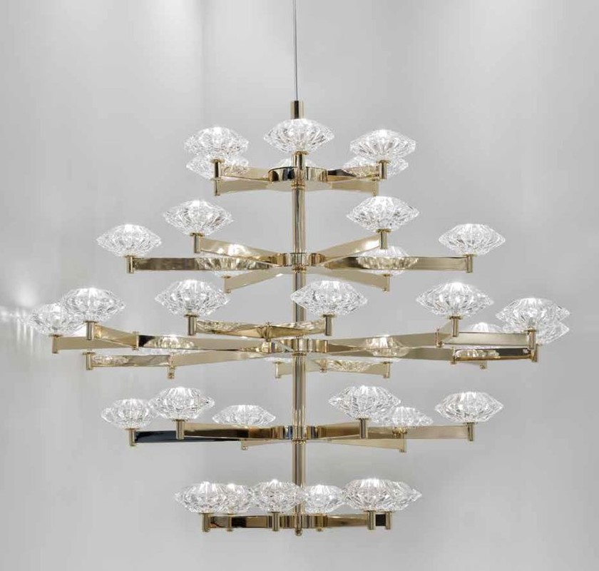 2129/CH36/SG Chandeliers Contemporary
