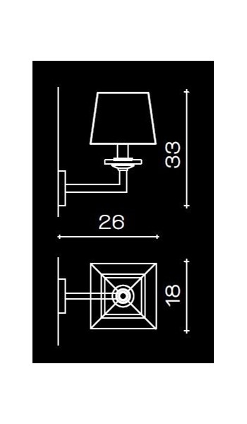 1214/A1 Wall Lamps Contemporary