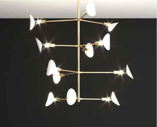 IPM109CH12 Chandeliers Contemporary