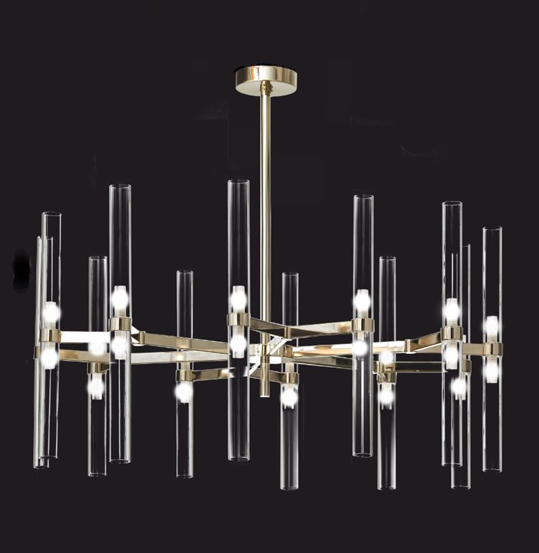 2218/CH12+12 Chandeliers Contemporary