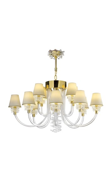 2251CH12OVAL Chandeliers Contemporary