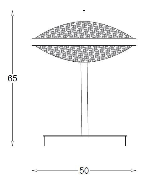 2269T Table Lamps Contemporary