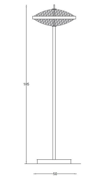 2269FL Floor Lamps Contemporary