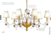 1631/CH8/OV  Chandeliers Classic