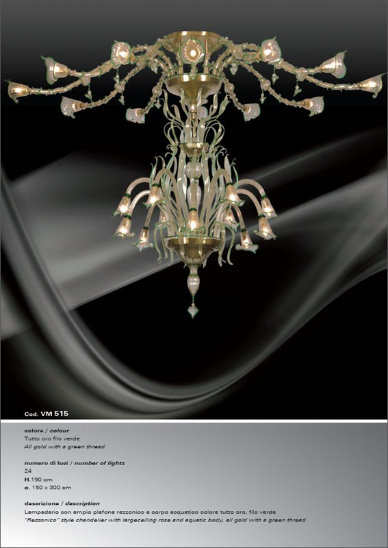 VM515 Chandeliers Classic
