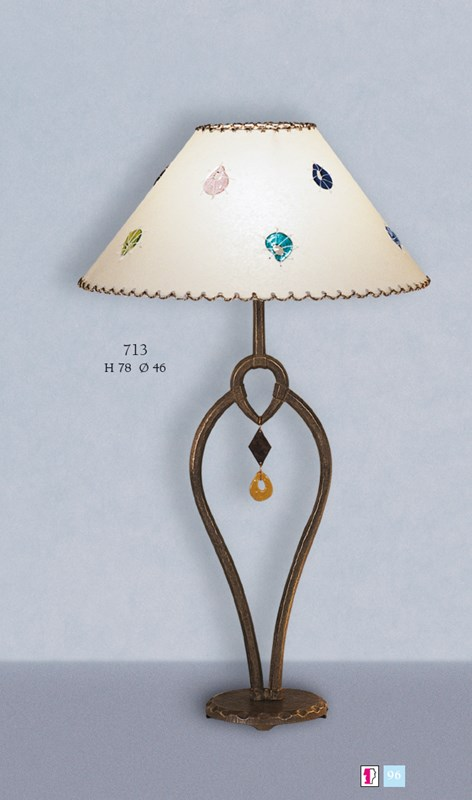 713 Table Lamps Rustic