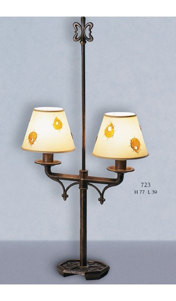 723 Table Lamps Rustic