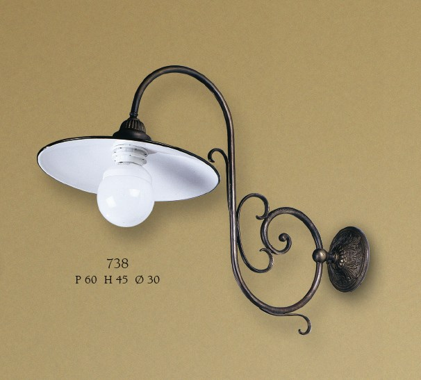 738 Wall Lamps Rustic