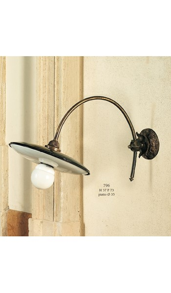 796 Wall Lamps Rustic