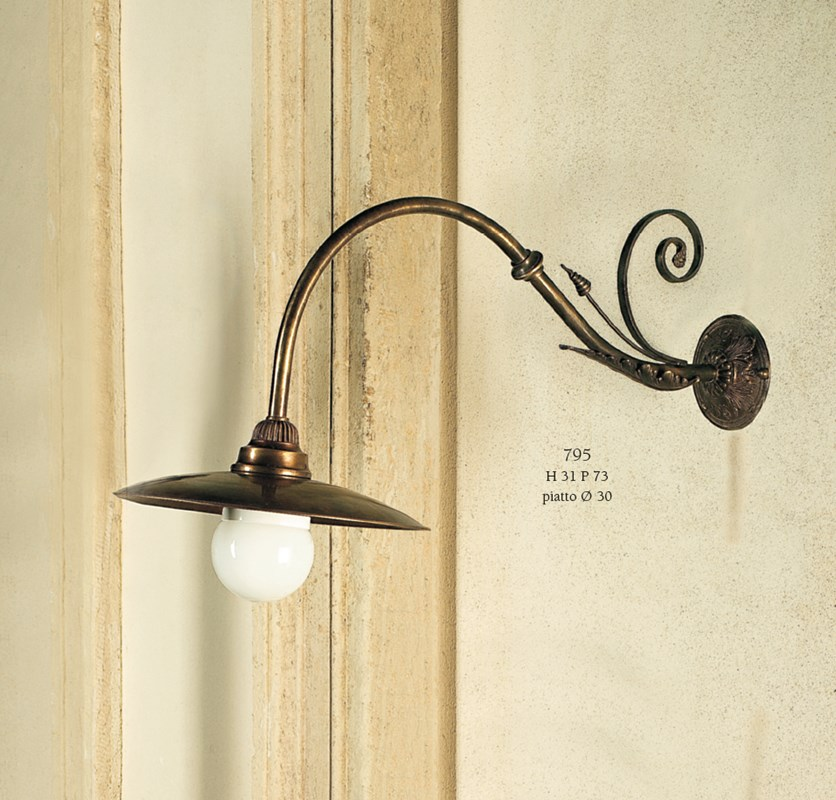 795 Wall Lamps Rustic