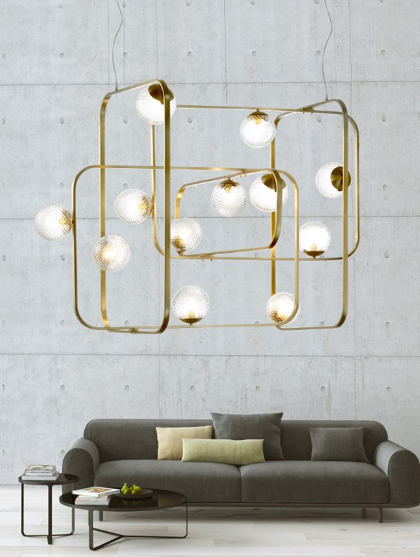 2056CH12 Chandeliers Contemporary