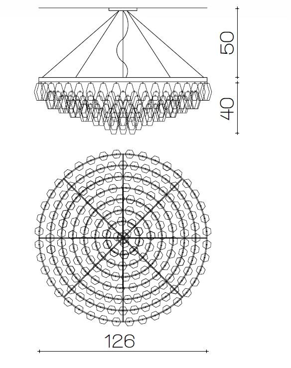 2081/NL Chandeliers Contemporary