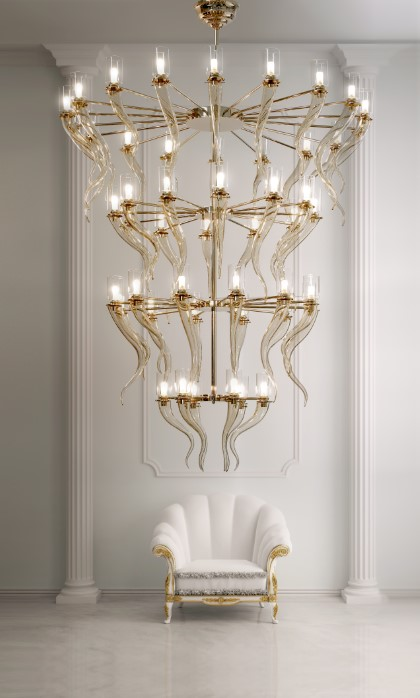 2049/CH48/SG Chandeliers Contemporary