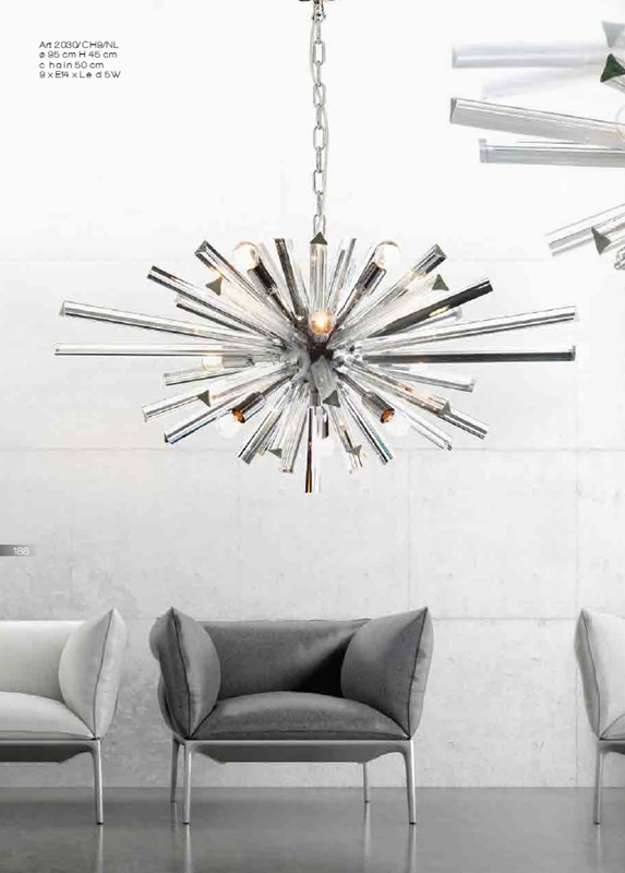 2030CH9 Chandeliers Contemporary