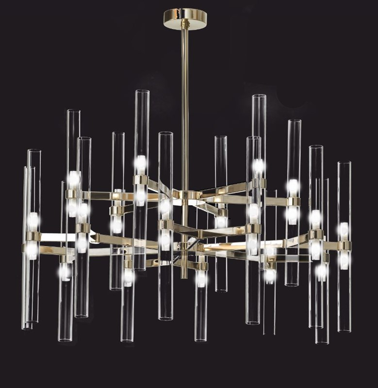 2218/CH18+18  Chandeliers Contemporary