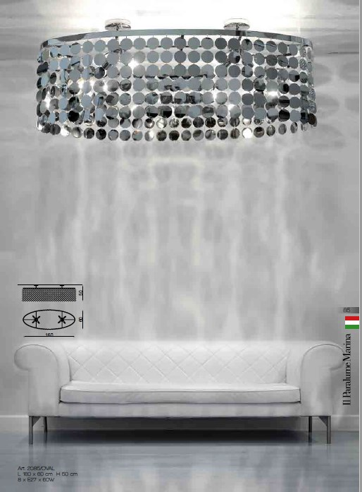 2085/OVAL Chandeliers Contemporary